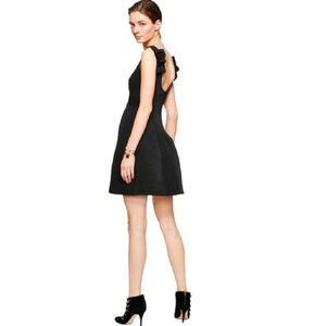 KATE SPADE NWT BOW BACK BLACK DO WONDERS DRESS 10